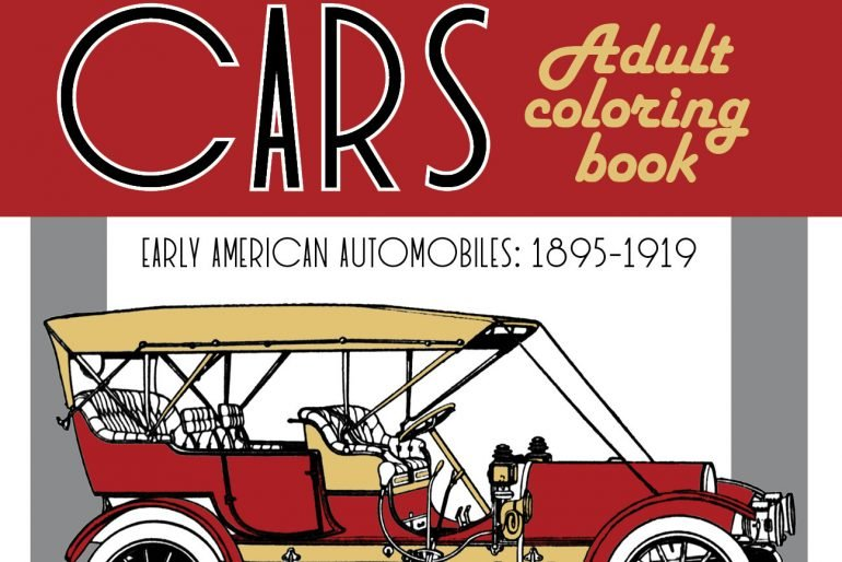 Classic Cars Adult Coloring Book 1