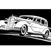 Classic Cars Adult Coloring Book 3 Vintage Automobiles (1930-1939) (2)