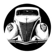 Classic Cars Adult Coloring Book 3 Vintage Automobiles (1930-1939) (4)