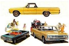Classic Chevrolet El Camino pickup trucks Chevy 1960s