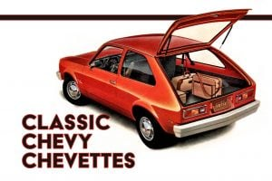 Classic Chevy Chevettes - Vintage cars