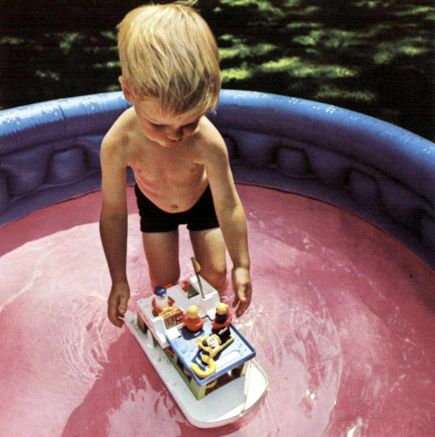 Classic Fisher-Price Little People houseboat - 1972