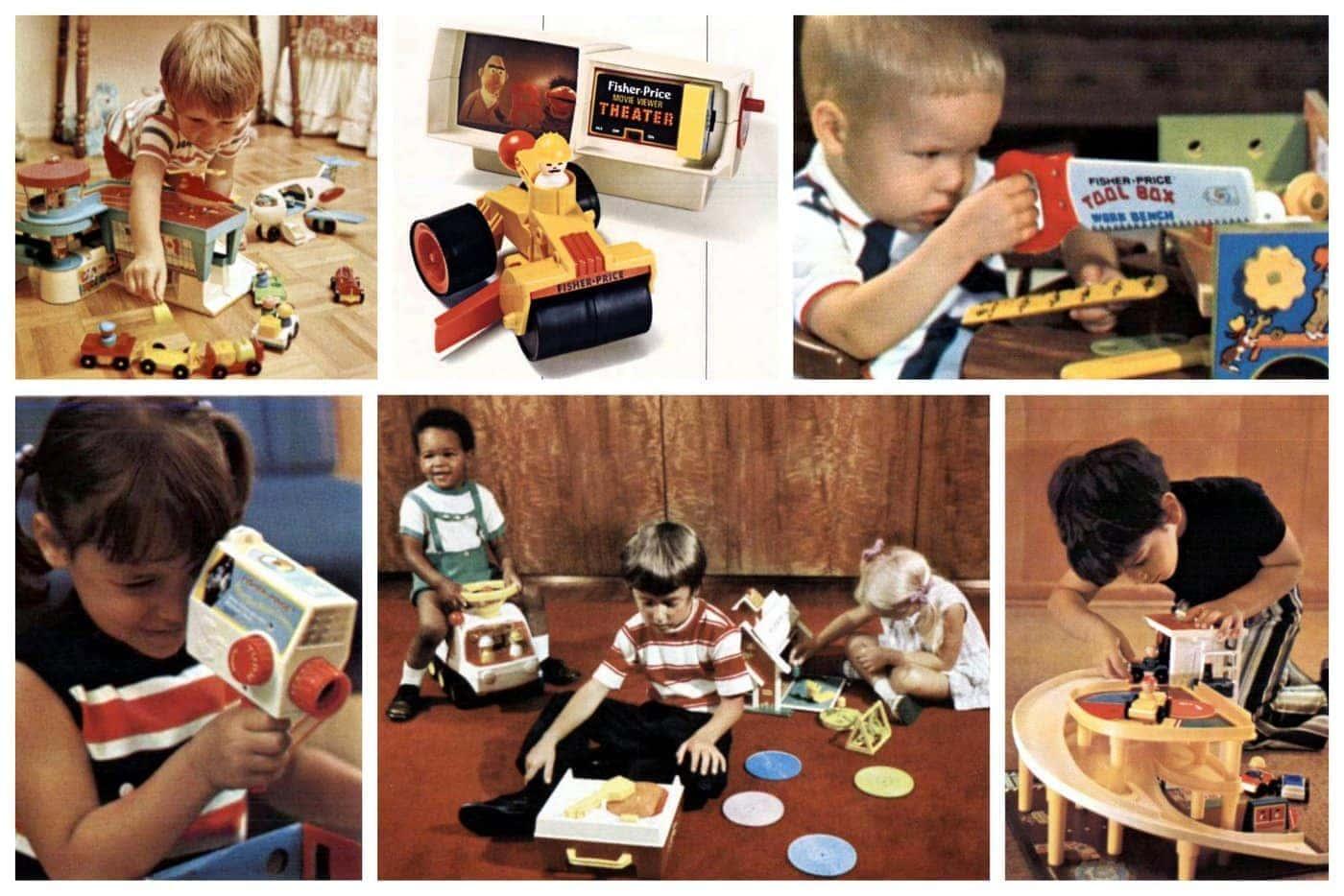Classic Fisher-Price preschool toys