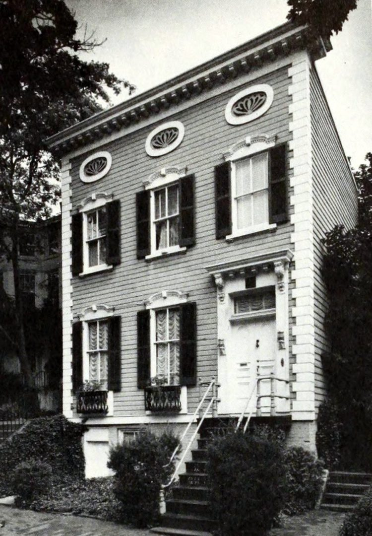 Federal/Victorian frame house - Georgetown