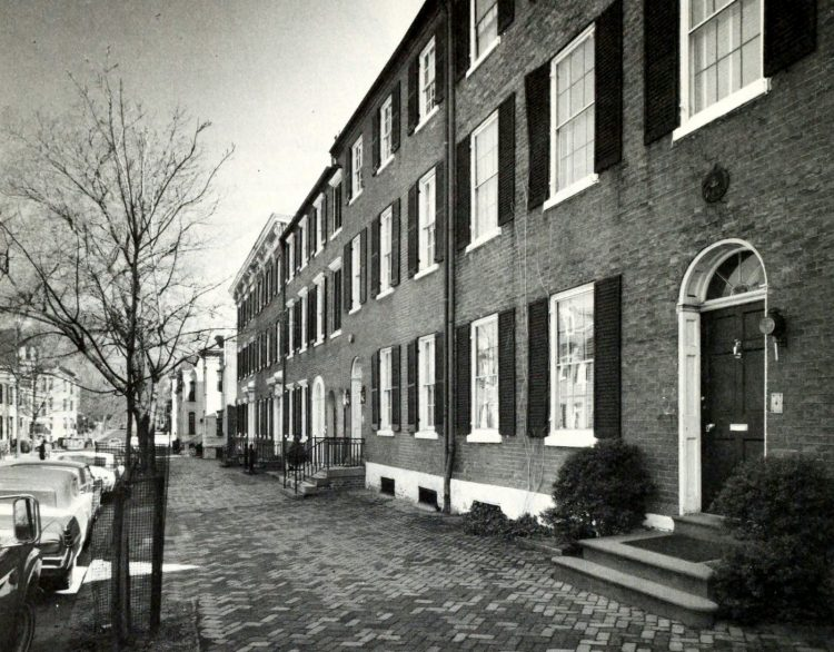 Smith-Morton row houses - Georgetown