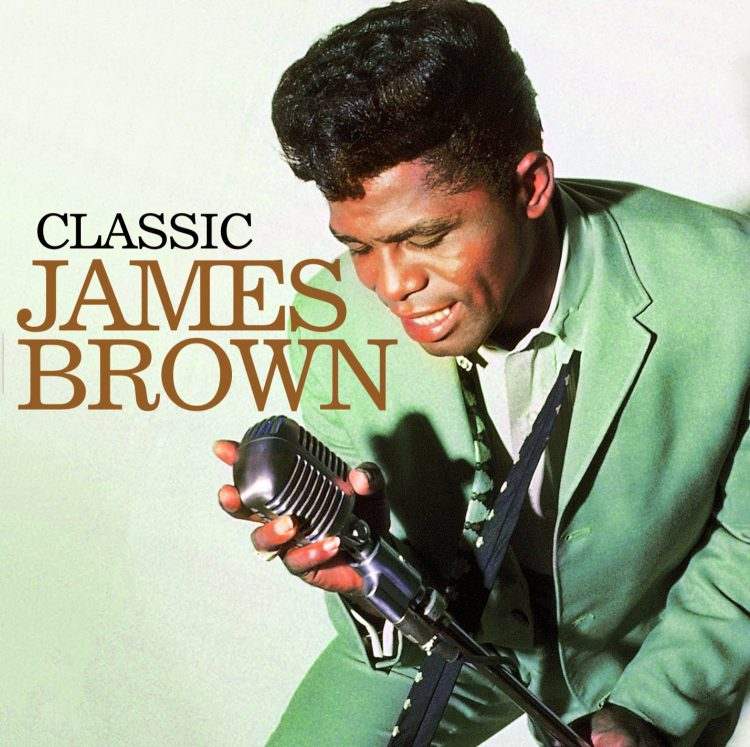 Classic James Brown LP cover