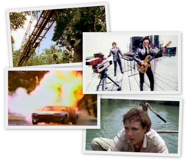 Classic MTV video scenes