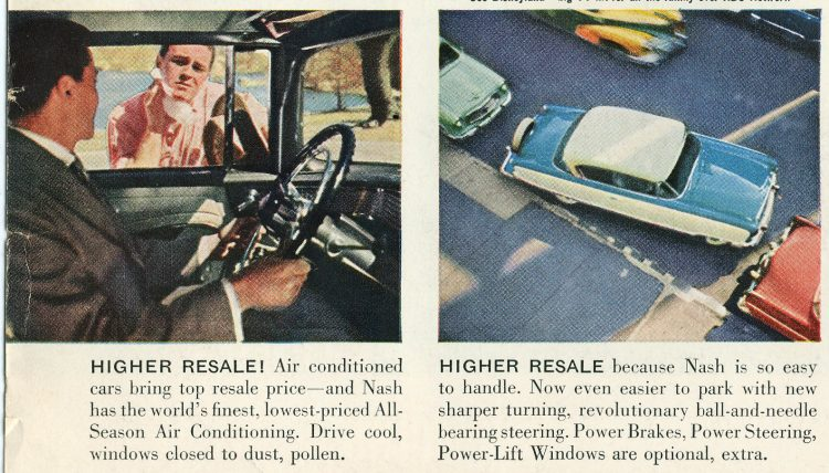 Classic Nash Ambassador cars - Vintage ads from August 1955 (3)