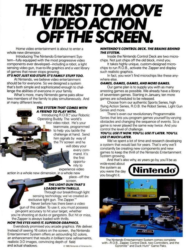 Classic Nintendo Entertainment System-NES 1985s