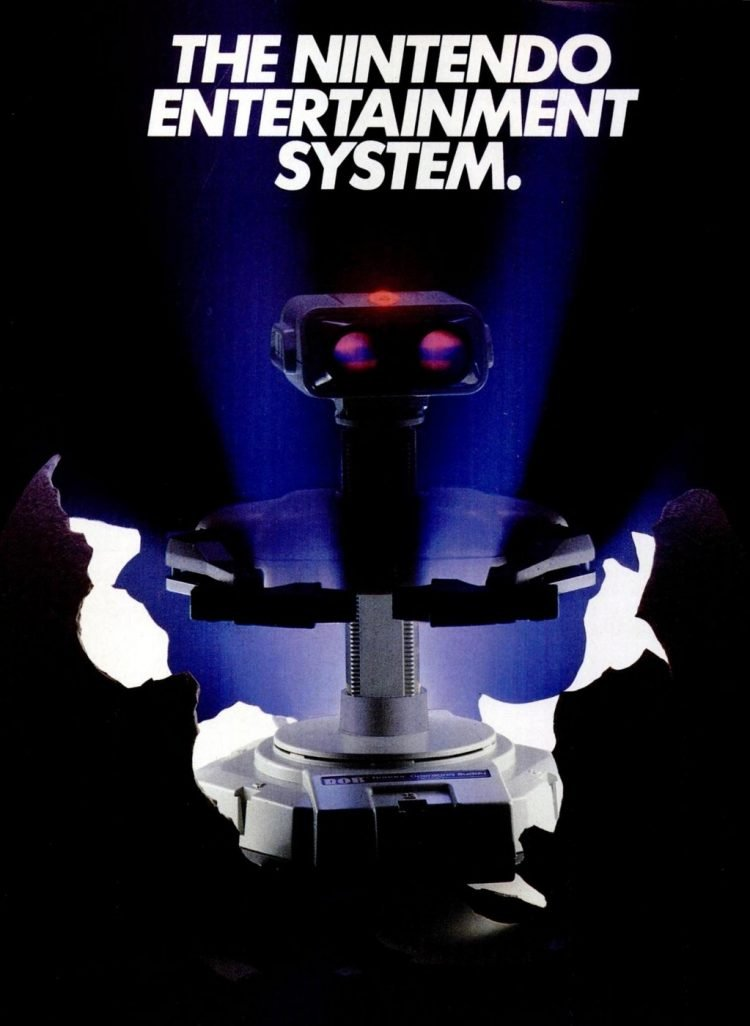 Classic Nintendo Entertainment System - NES robot from 1985