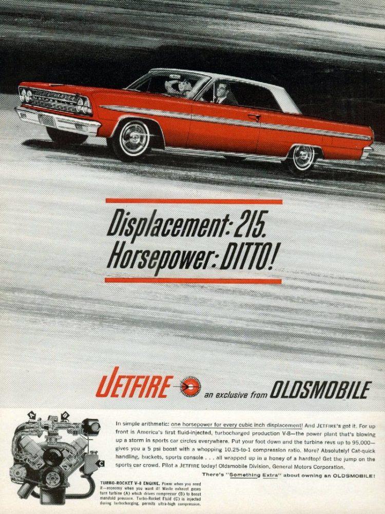 Classic Oldsmobile Jetfire