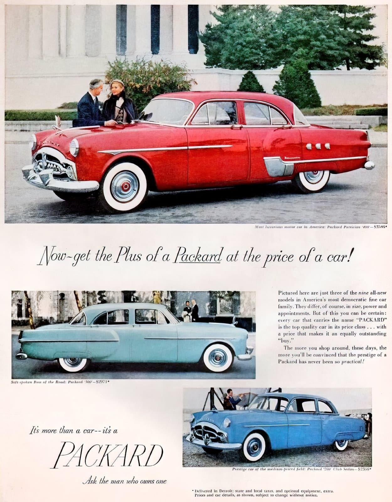 Classic Packard Patrician 400 car (1951)