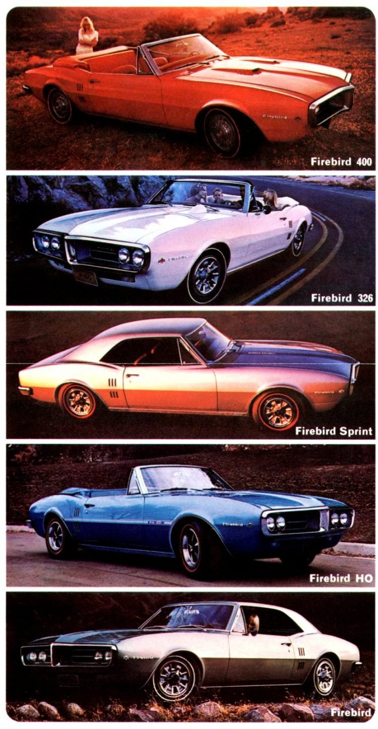 Classic Pontiac Firebird cars