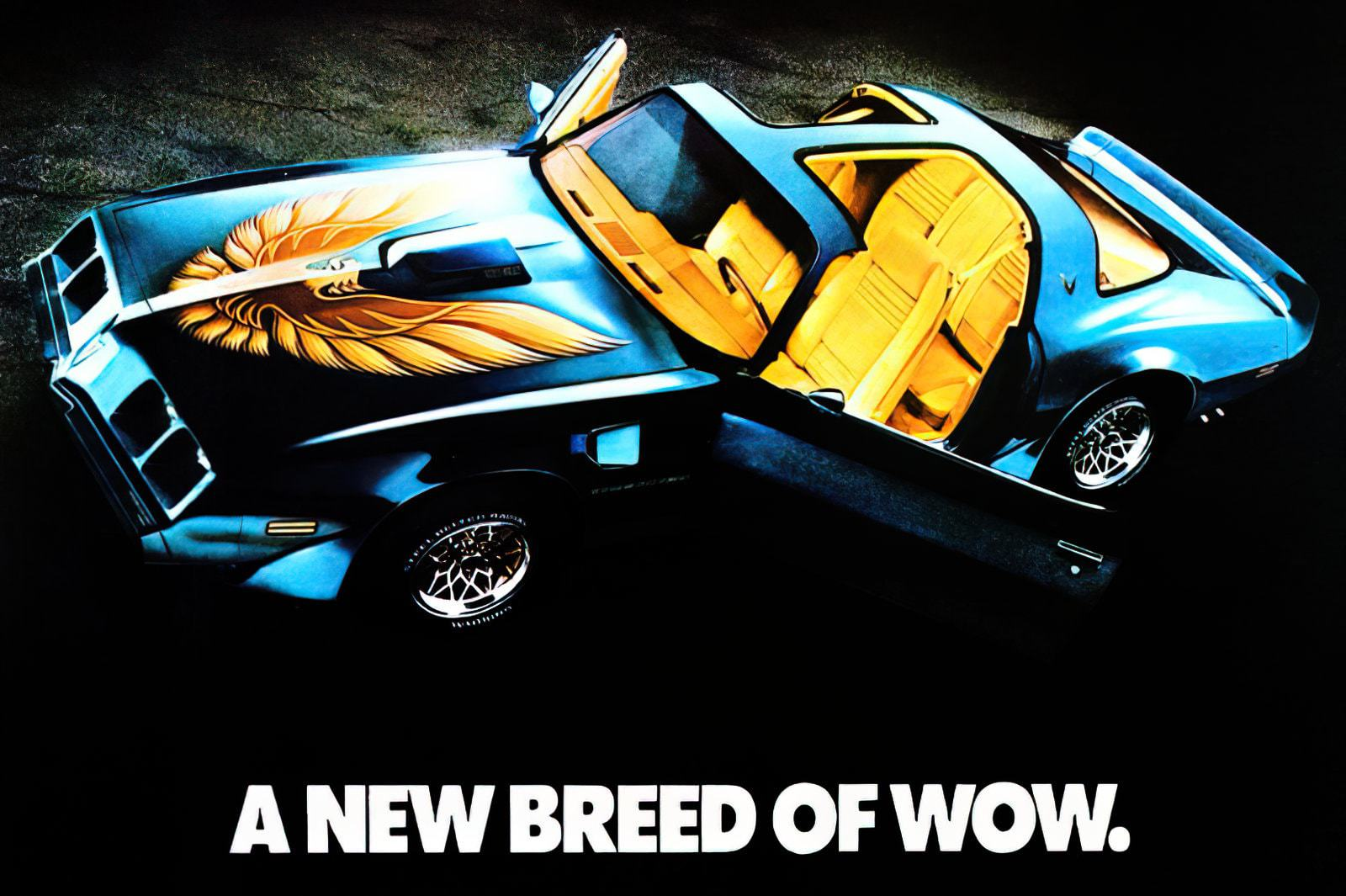 Classic Pontiac Firebirds and Trans Am cars See these flashy retro sports cars