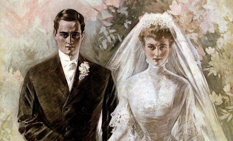 Classic Vintage wedding dresses from the early 1900s