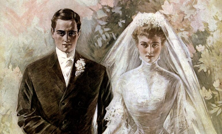 The Most Beautiful Vintage Wedding Dresses From The Early 1900s