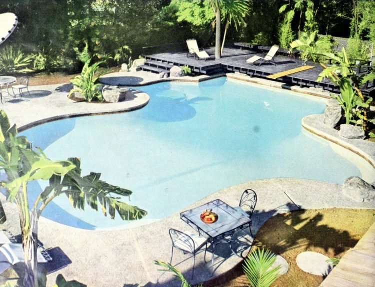Classic backyard swimming pool design from 1959 (3)