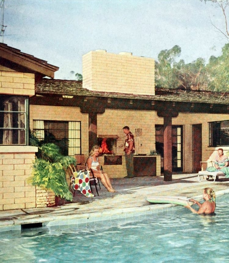 Classic backyard swimming pool design from 1959 (5)