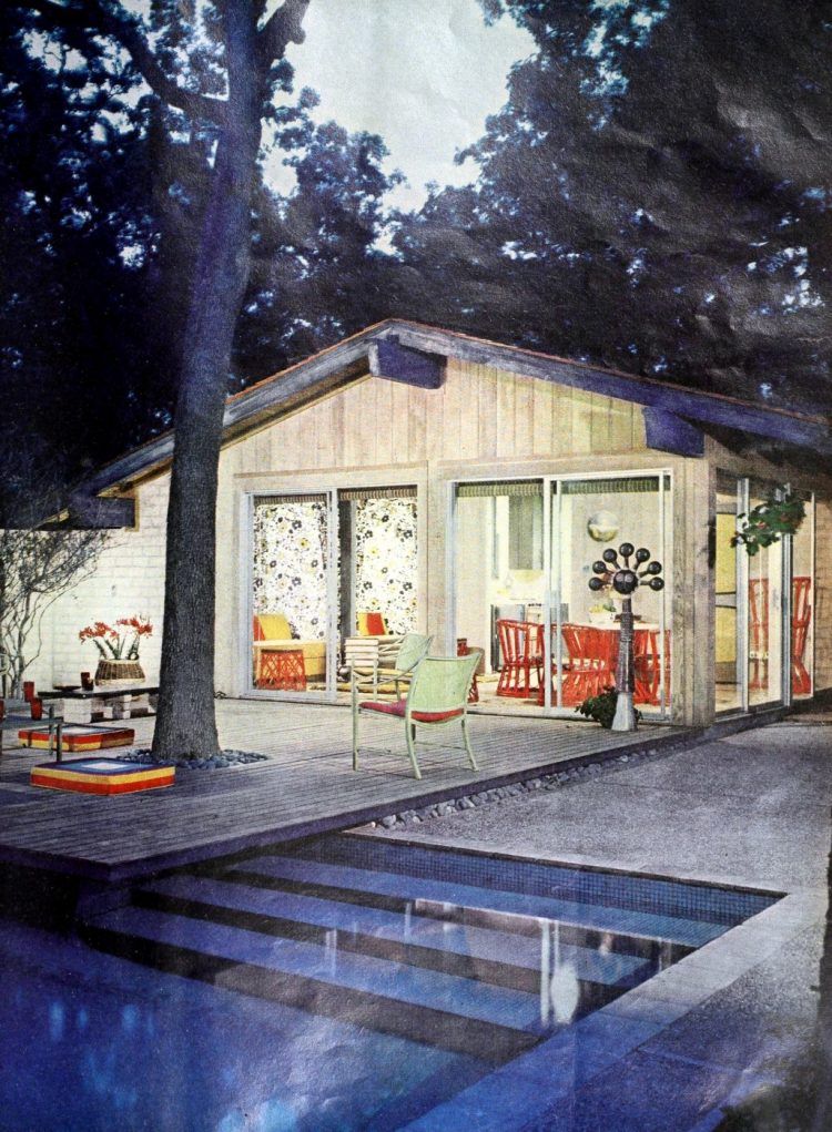 Classic backyard swimming pool design from 1963 (4)