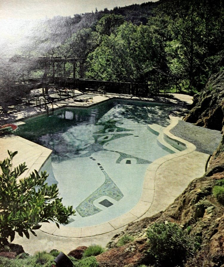Classic backyard swimming pool design from 1963 (6)