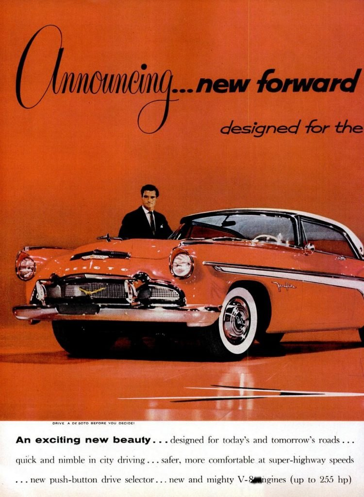 Vintage cars - 1956 DeSoto (2)