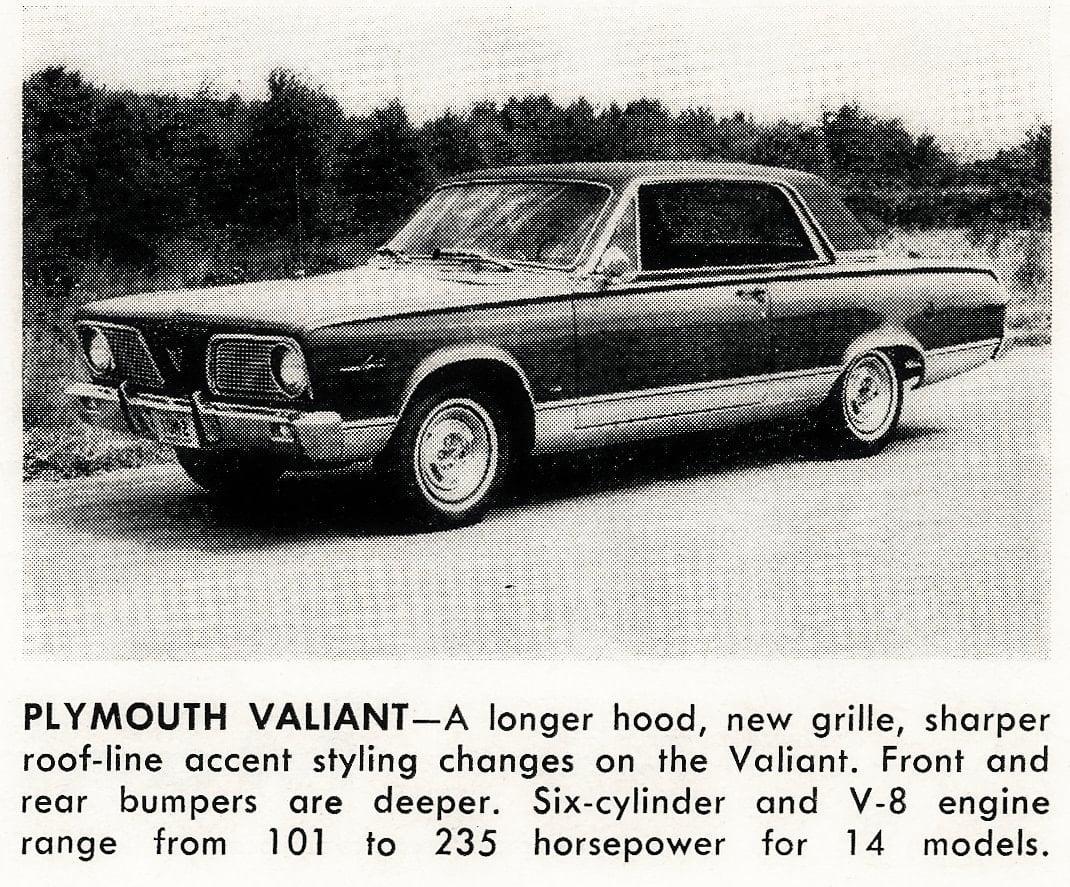 Classic cars -- Plymouth Valiant (1965)