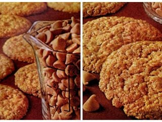 Classic cookie recipe Butterscotch Oaties - 1960s