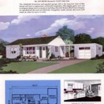 Classic house plans from 1955 - 50s suburban home designs at Click Americana (10)