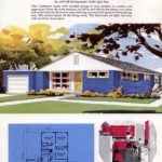 Classic house plans from 1955 - 50s suburban home designs at Click Americana (18)