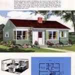 Classic house plans from 1955 - 50s suburban home designs at Click Americana (2)
