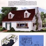 Classic house plans from 1955 - 50s suburban home designs at Click Americana (21)