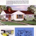 Classic house plans from 1955 - 50s suburban home designs at Click Americana (23)