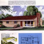Classic house plans from 1955 - 50s suburban home designs at Click Americana (25)