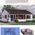 Classic house plans from 1955 - 50s suburban home designs at Click Americana (28)