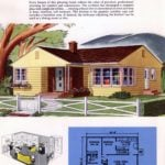 Classic house plans from 1955 - 50s suburban home designs at Click Americana (29)