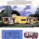 Classic house plans from 1955 - 50s suburban home designs at Click Americana (4)
