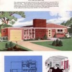 Classic house plans from 1955 - 50s suburban home designs at Click Americana (8)