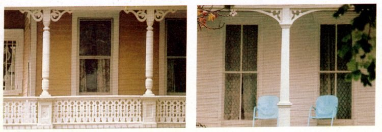 Classic house styles - wood trim ideas for the front porch (1)