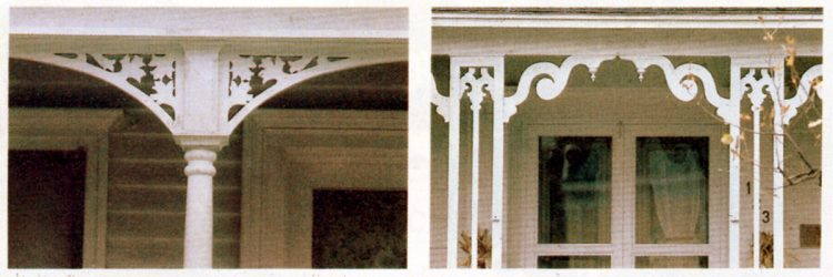 Classic house styles - wood trim ideas for the front porch (2)