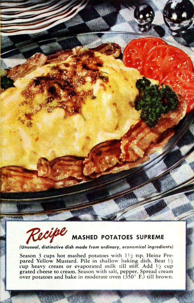 Classic mashed potatoes supreme recipe