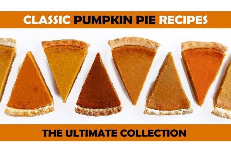 Classic pumpkin pie recipes