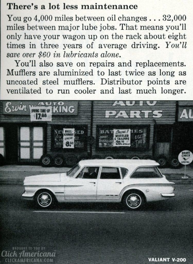 Classic station wagon Valiant V-200