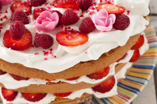 Classic strawberry torte recipe