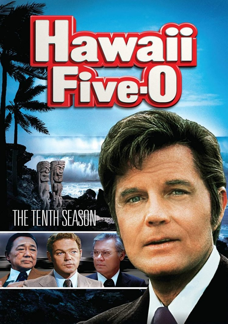Classic vintage Hawaii Five O cover 10th season