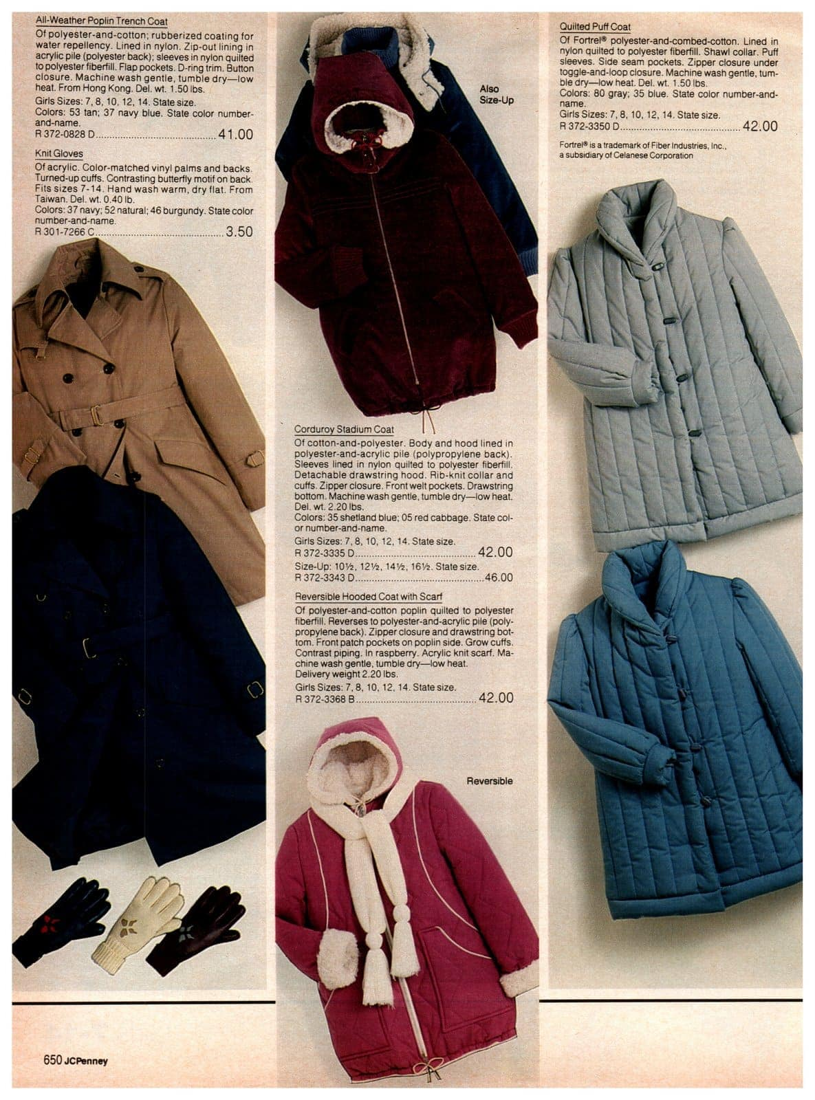 Trench coats, corduroy stadium coats, reversible hoodies and quilted puff coats with shawl collars