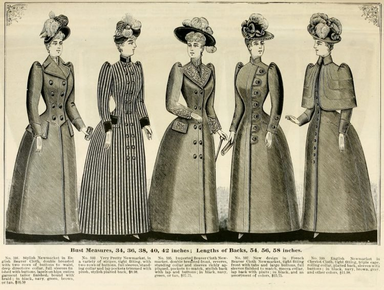 Clothing for women - fashion from fall winter 1890 (11)