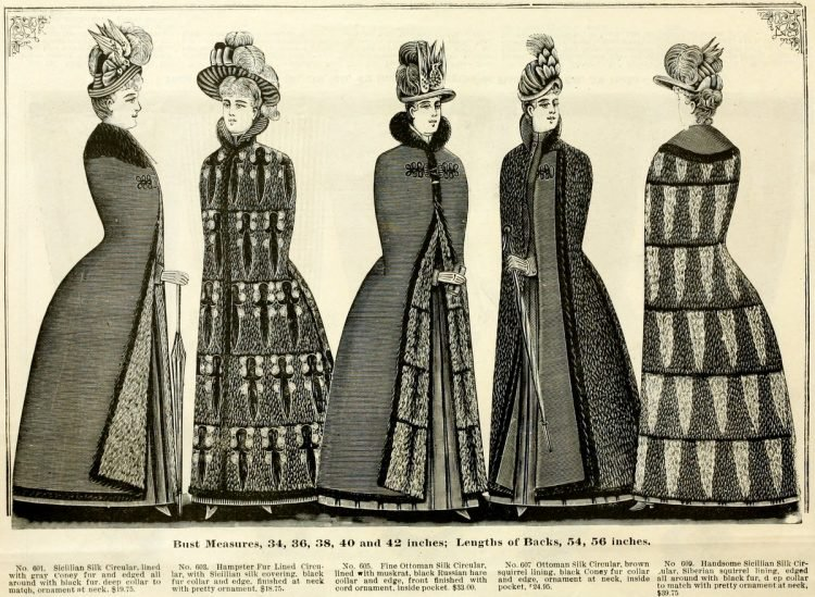 Clothing for women - fashion from fall winter 1890 (12)