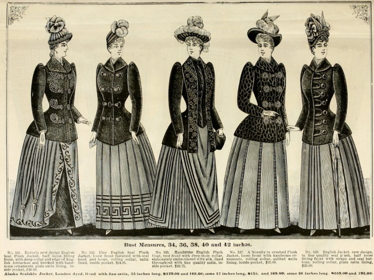Clothing for women - fashion from fall winter 1890 (5)