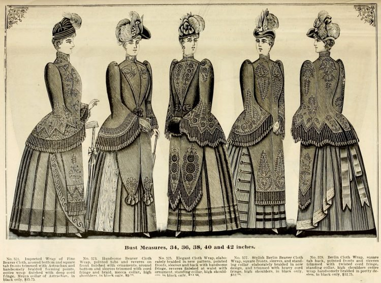 Clothing for women - fashion from fall winter 1890 (9)