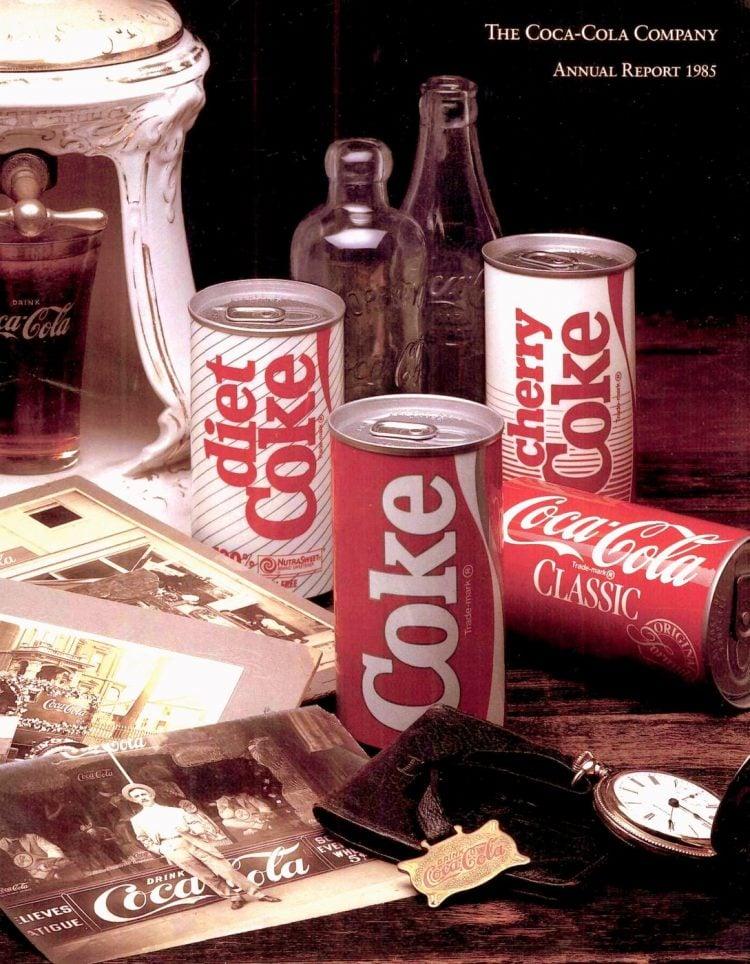 Coca Cola Coke 1985 Annual Report
